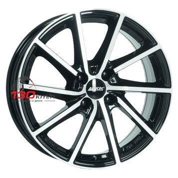 Alutec Singa 7,5Jx18 5x114,3 ET 49,5 d67,1 Diamant black front polished Литой
