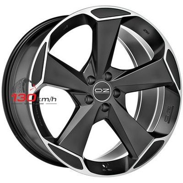 OZ Aspen HLT 8,5Jx20 5x112 ET 30 d79 Matt Black + Diamond Cut Литой