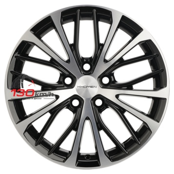 Khomen Wheels V-Spoke 705 (ZV 17_X-Trail) 7Jx17 5x114,3 ET 45 d66,1 Black-FP Литой